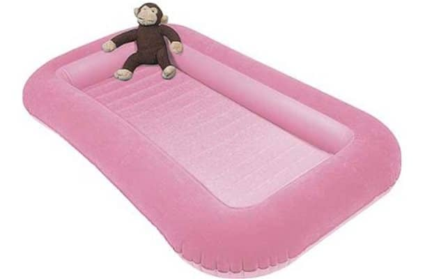 Kampa airlock bed junior pink