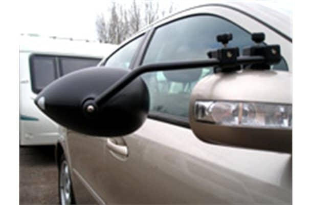 Milenco Aero III towing mirrors Flat Pair