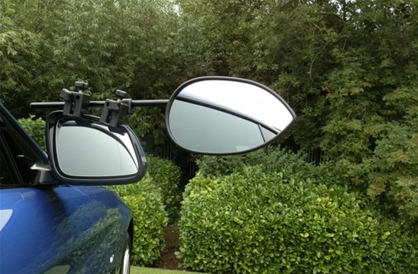 Milenco Aero III towing mirrors standard Pair