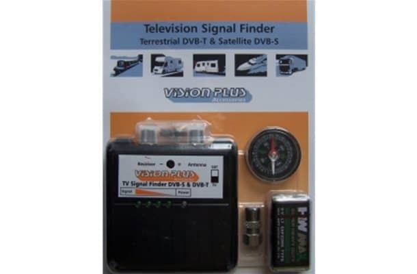 Television Terrestrial DVB-T and Satellite DVB-S sig finder