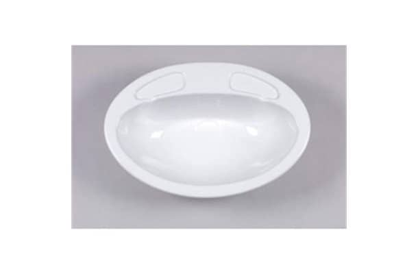 Apollo vanity bowl white