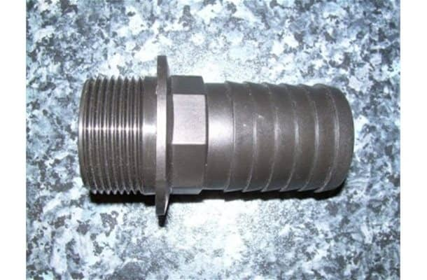 40mm Straight Hose Fitting