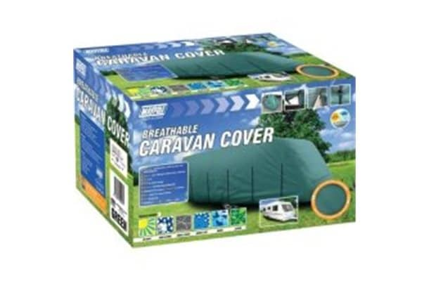 Maypole Caravan Cover 17-19 Ft In Green