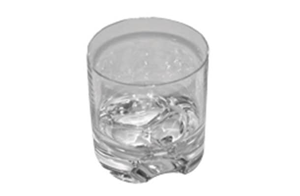 Quest Everlasting Glass Range Tumbler 250ml clear