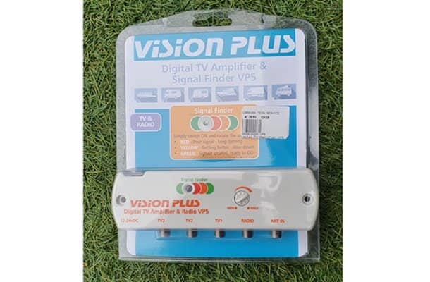 VISION PLUS DIGITAL TV AMPLIFIER & SIGNAL FINDER VP5