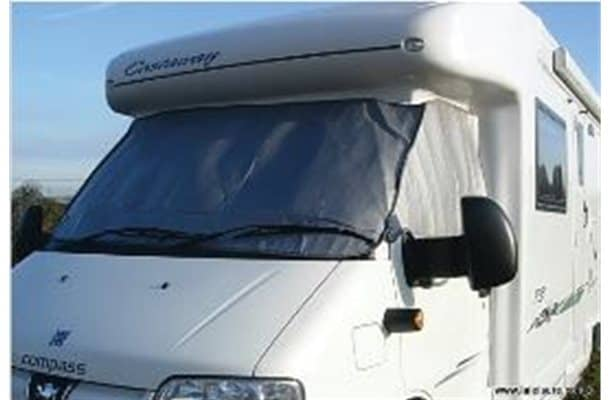 Exterior Silver Screen for Fiat Ducato 2007 Onwards