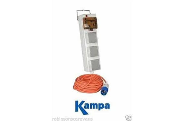 Kampa Pitch Power Trio Mains Supply Unit