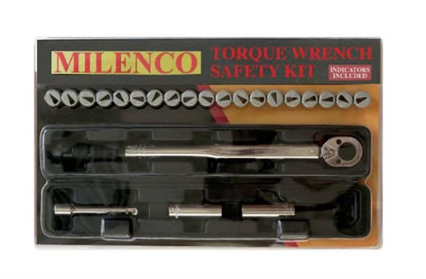 milenco torque wrench safty kit