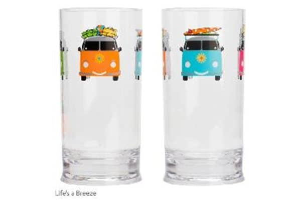 Camper Smiles Acrylic Tall Tumbler 2pc Set