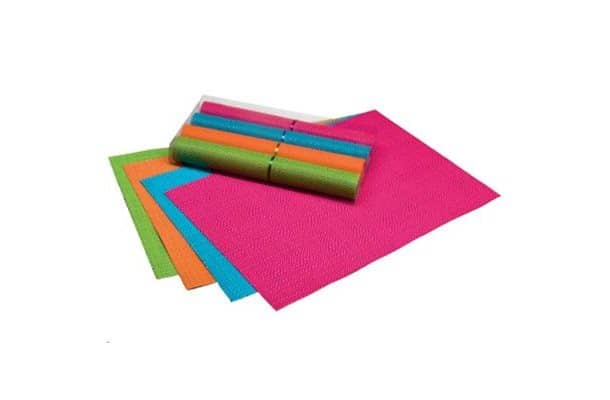 flamefield colourful woven placemats