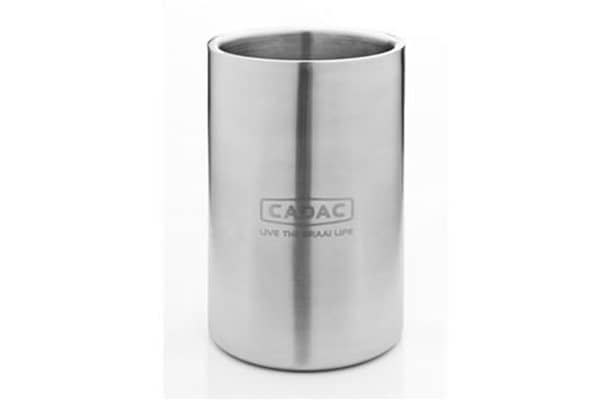 cadac stainless steel wine cooler