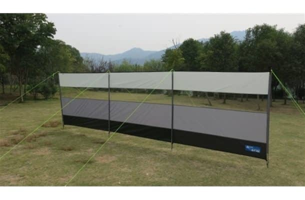 kampa Grey Windbreak