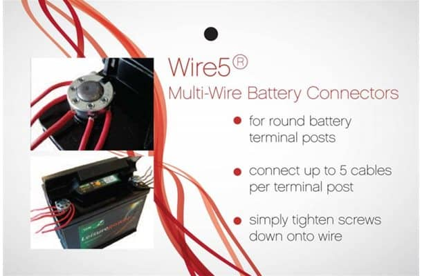 Wire5 Multi-Wire Battery Connectors