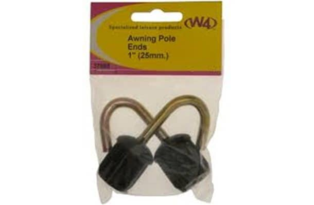 Awning pole hook 25mm