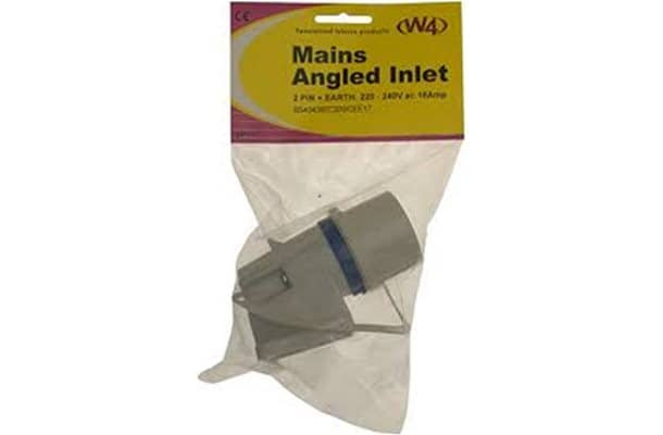 Mains Angled Inlet