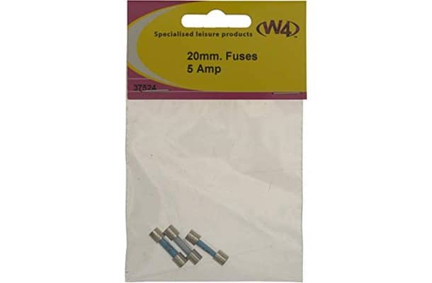 Glass fuse 20x5mm 5amp