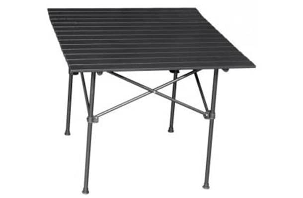 quest packaway slatted table
