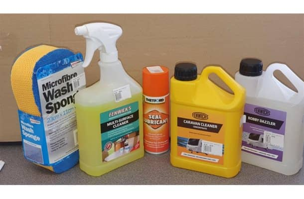 Caravan Cleaning Bundle
