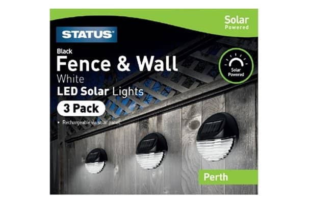 Perth Fence & Wall LED Solar Light