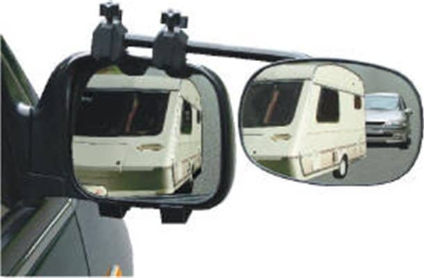 Pyramid rock steady towing mirror Convex glass