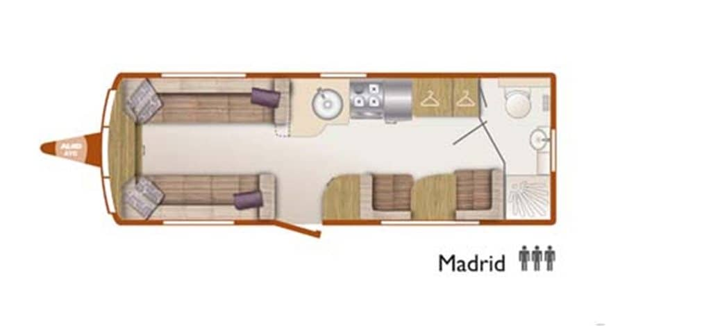 Floorplan of the Bailey Unicorn Madrid 2014