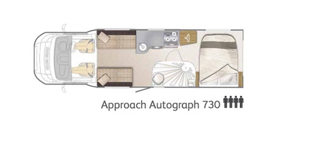 Floorplan of the Bailey Autograph 730 2015
